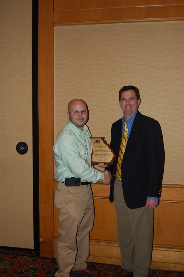 Grant Waldrop - 2014 Larry R. Dreihaup Award