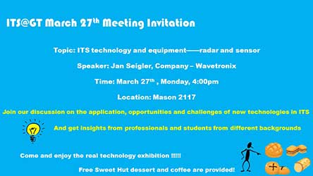 ITS@GT March 27 Meeting ITS Technology and Equipment