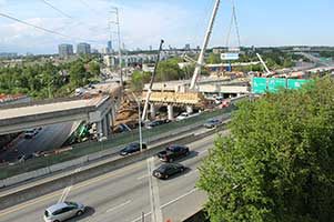 Georgia DOT: GEORGIA DOT STATUS UPDATE ON I-85 CONSTRUCTION