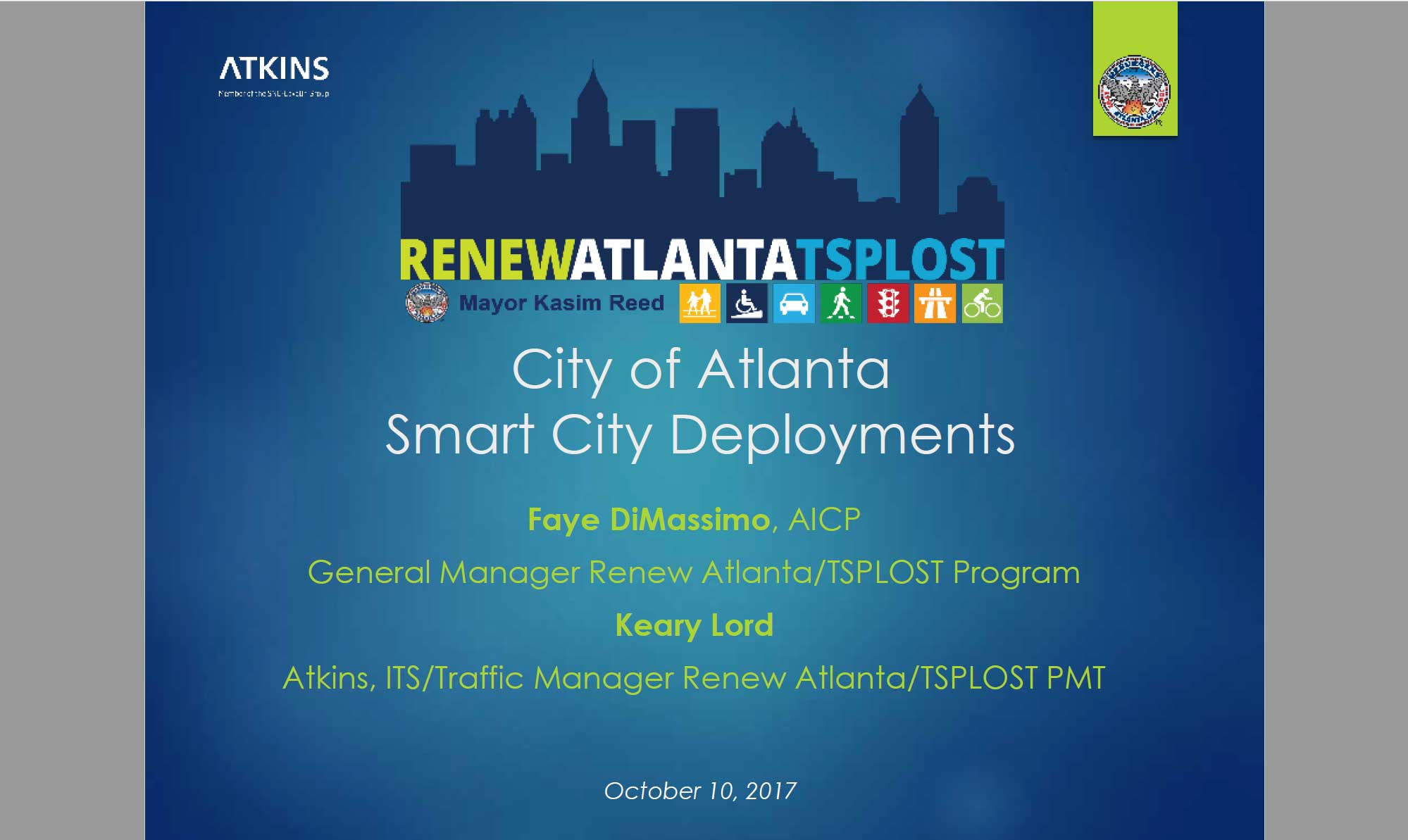 2017 Annual Meeting Session Four – Smart Cities