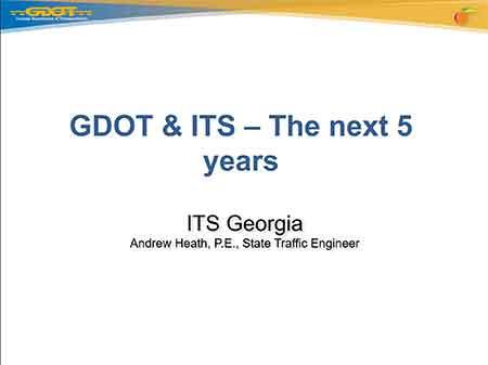 Session 5: Future ITS